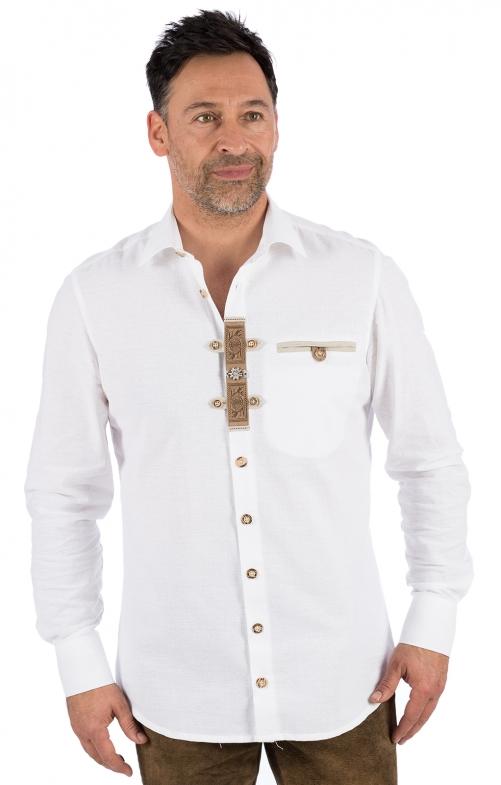 Camicia per Trachten 420193-1011-1 bianco