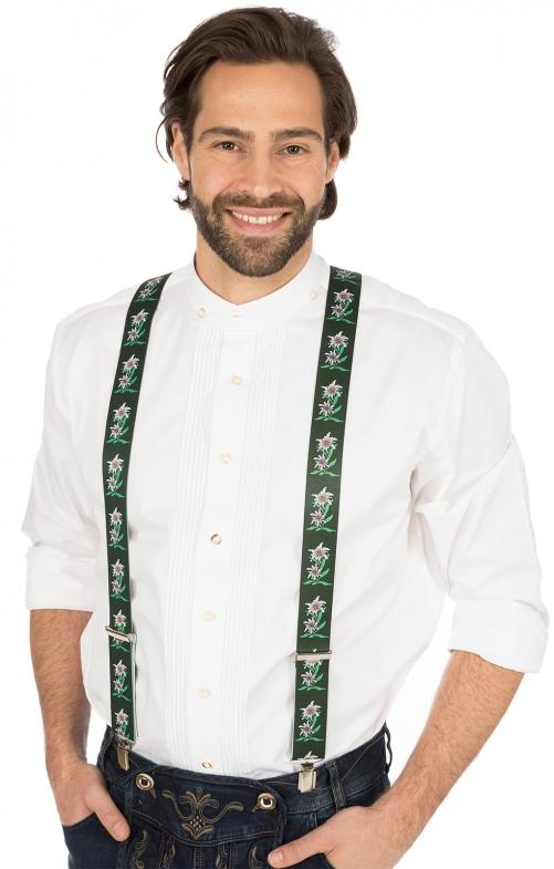Bretelle Costume HOE-60 verde