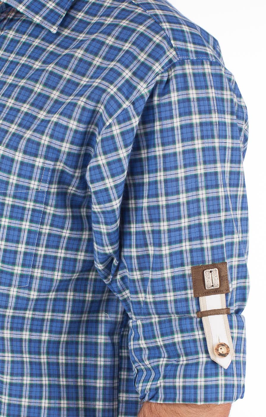 weitere Bilder von Camicia per Trachten Thommy blu