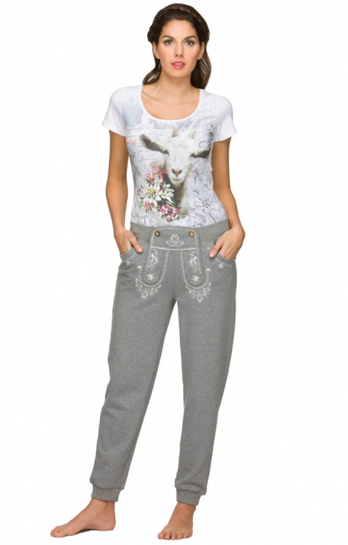 Pantaloncini Trachten SHELLY grey