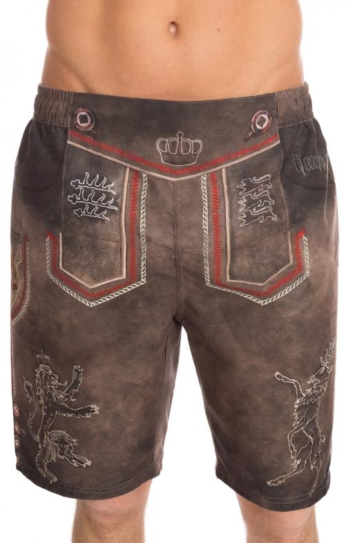 Pantaloni per il nuoto 94686-7 marrone