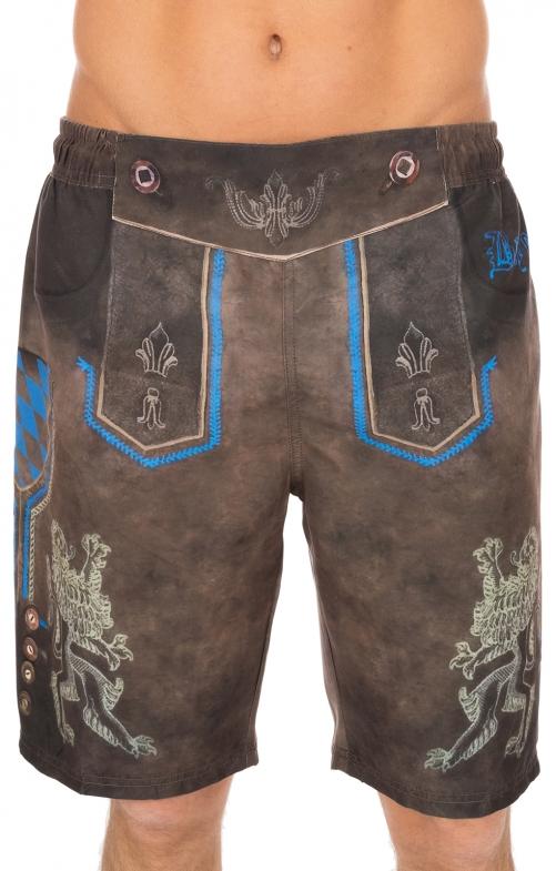 Pantaloni per il nuoto 94685-7 marrone