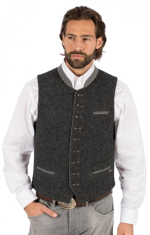 Gilet Costumi maglia KNALLER SW grigio scuro