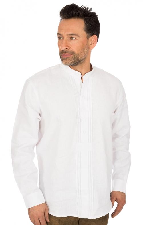 Camicia per Trachten colletto bianco