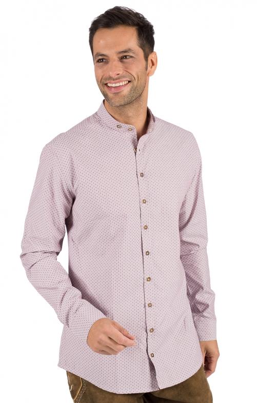 Camicia per Trachten Vestibilità 420000-3714-38 rosse