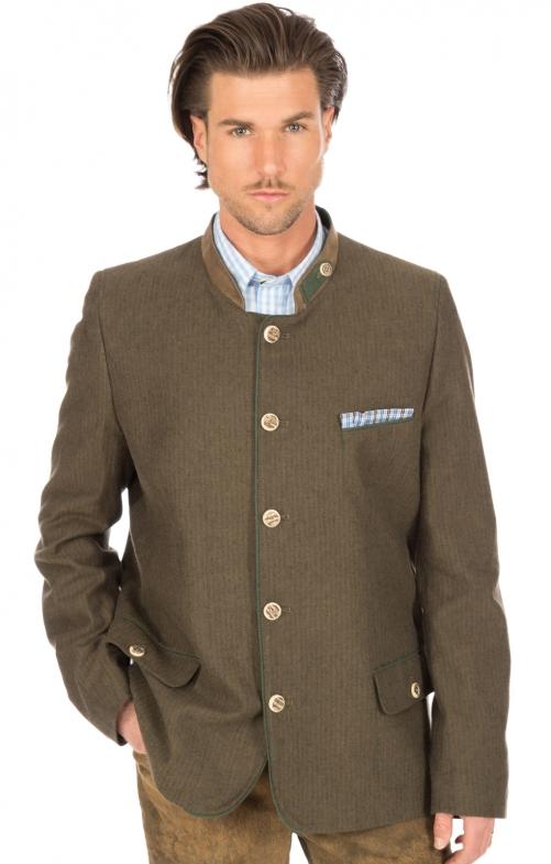 Tradizionale giacca marrone