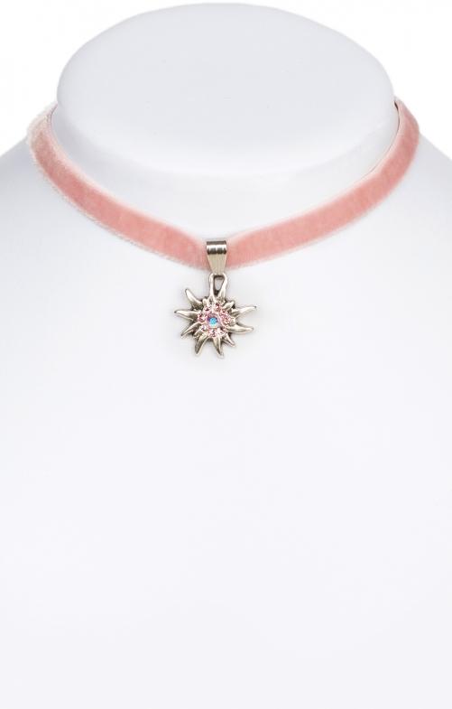 Collana con stella alpina 9197-SB rose