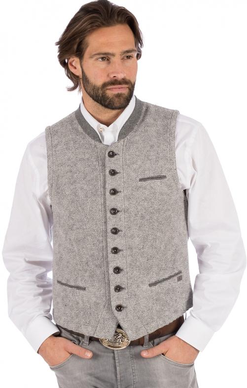 Gilet Costumi maglia KNALLER SW grigio chiaro