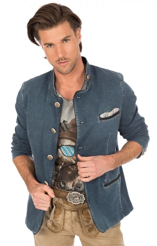 Tradizionale giacca HOCHFICHT blu