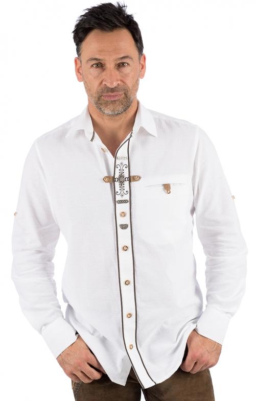 Camicia per Trachten TIM bianco